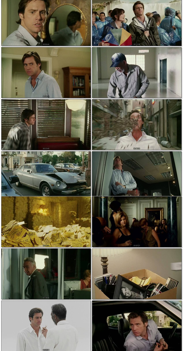 Download Bruce Almighty 2003 Dual Audio ORG Hindi 720p BluRay 900MB DD5.1ch ESubs movie