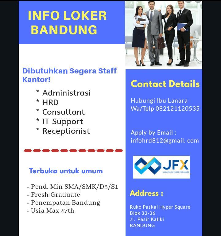 Lowongan Kerja Kontak Perkasa Bandung Januari 2020