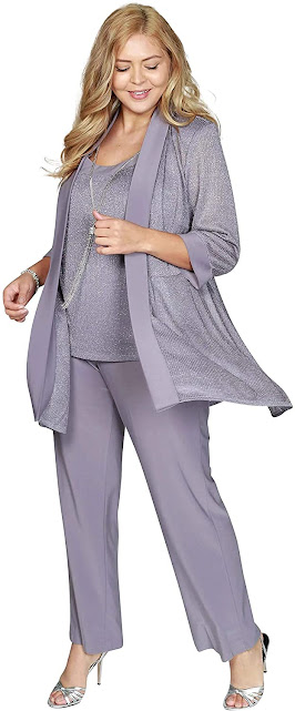 Casual Plus Size Mother of The Bride Dresses With Jackets