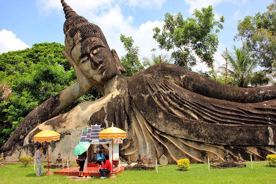 Xiengkuane Wat Parco di Buddha - Vientiane - Laos