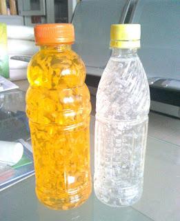 transparent suspending beverage with low acyl gellan gum