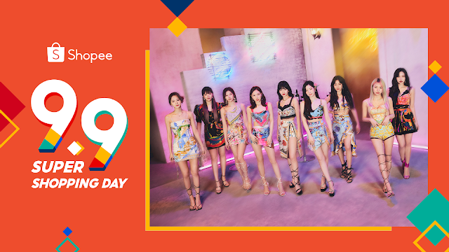 Watch Electrifying Performances from K-Pop Girl Group TWICE at Shopee's 9.9 Super Shopping Day TV Special