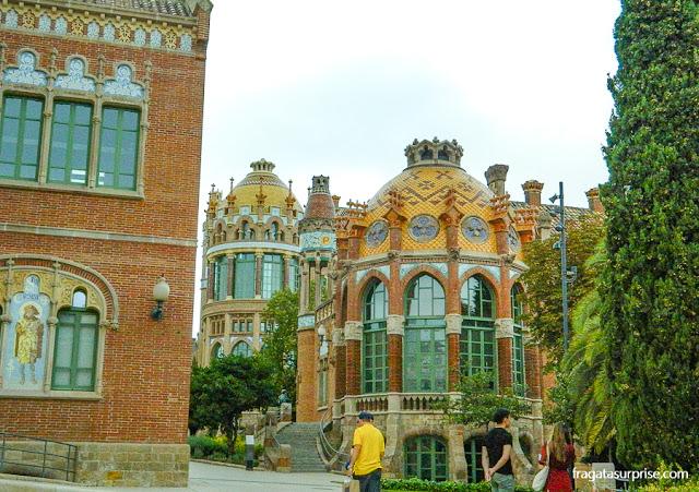 Pavilhões do Hospital de la Santa Creu i Sant Pau, Barcelona