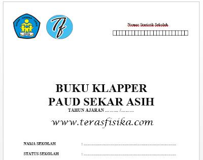 Buku Klapper / Buku Induk Untuk Paud TK KB
