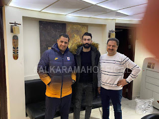 فسخ عقد اللاعب السوري شادي الحموي في العراق والعودة الى الكرامة