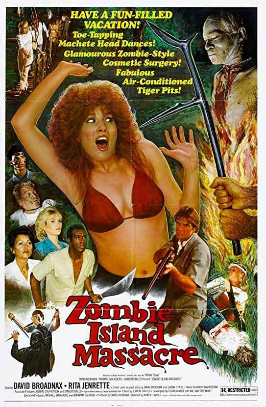 WATCH Masacre en la isla de los zombies - Zombi Island Massacre 1984 ONLINE Freezone-pelisonline