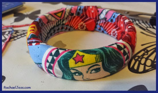 Revamping my Old Bangle to Comic-Con Accessory