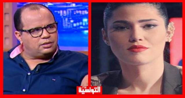 مرام بن عزيزة تهاجم نوفل الورتاني بسبب طليقها !