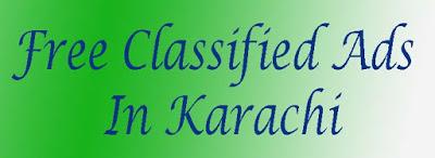 Free Classified Ads in Karachi