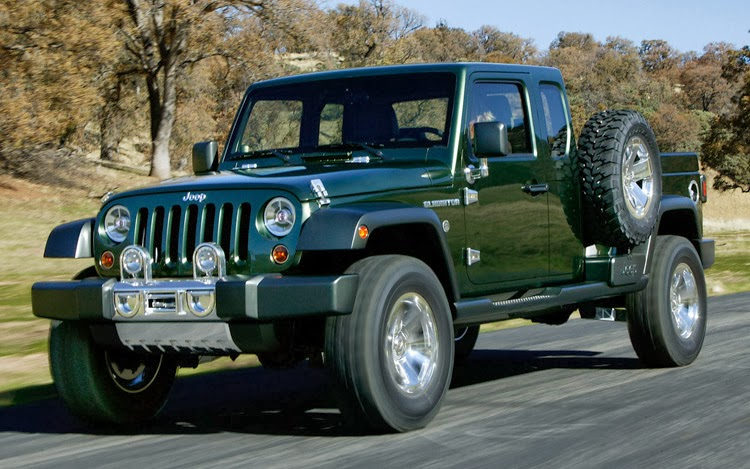 Jeep Does Not A Pickup Truck Today But That Doesn T Mean You Can Convert Wrangler Unlimited Into S Jk 8 Conversion Kit