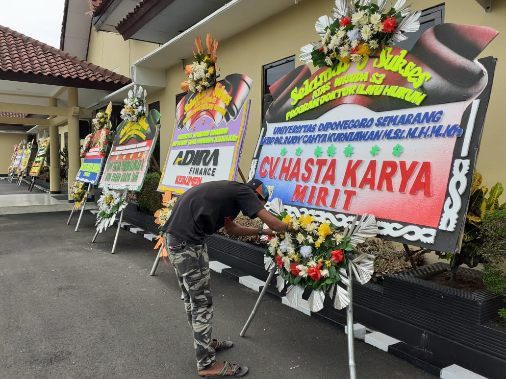 Rudy Cahya Kurniawan, Kapolres Kebumen Sandang Gelar Doktor dari Undip Semarang