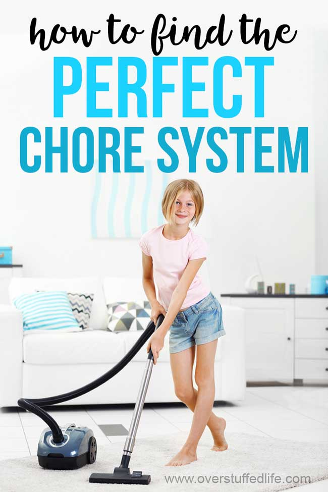 Are you frustrated when every chore system you try for your family fails? On the quest for the perfect chore system for your kids? Here's how to find it.