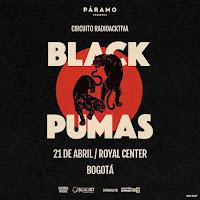 Concierto de BLACK PUMAS en Colombia