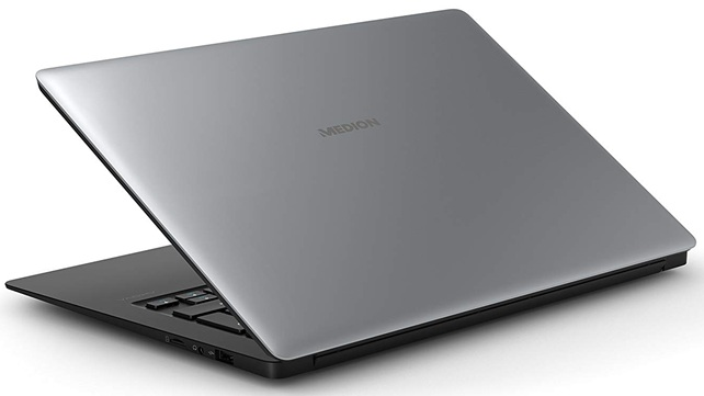 Medion MD61338: portátil ultrabook de 14'' con Windows 10 Home preinstalado