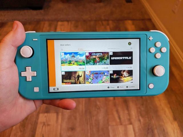 Sorteio de um Nintendo Switch Lite + Jogo
