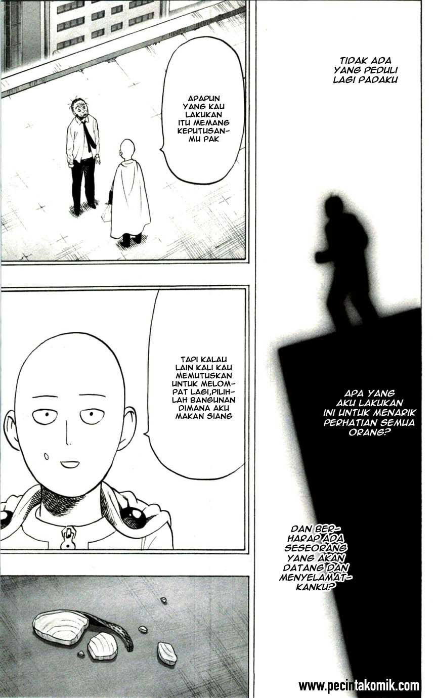 Baca Manga One Punch Man Chapter 50 Extra Bahasa Indonesia