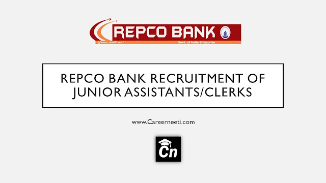 Repco Bank Recruitment of Assistants/Clerks, Repco Bank Logo, www.careerneeti.com, Careerneeti Logo