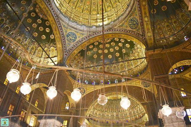 Mezquita Al-Hussein en El Cairo, Egipto