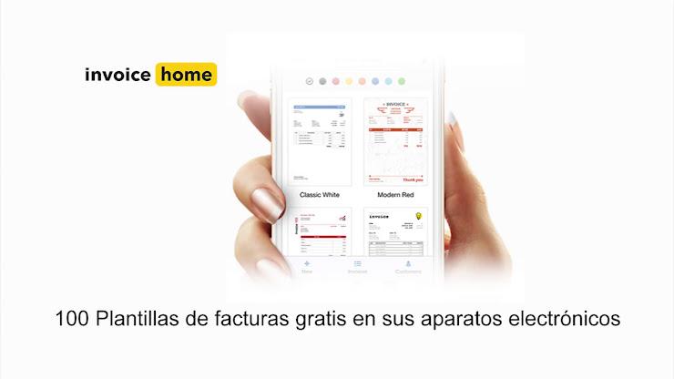 Crea facturas profesionales fácil y rápido con Invoice Home