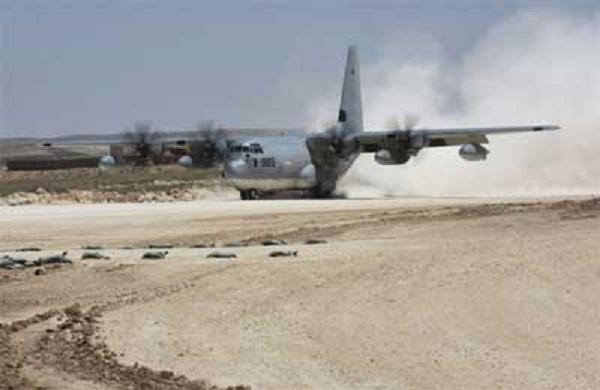 ظهور طائرات عسكرية أمريكية شمال سوريا لأول مرة (صور)
