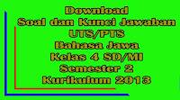 download soal dan kunci jawaban uts bahasa jawa kelas 4 sd semester 2 kurikulum 2013