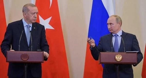 Ρώσος ειδικός καλεί τον Πούτιν να συντρίψει τον Ερντογάν πριν είναι αργά