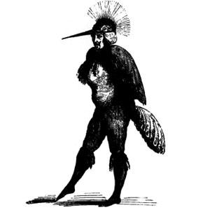Goetia - Caim (ilustração) 1