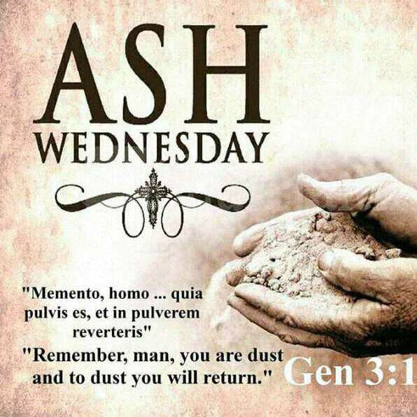 Ash Wednesday Wishes For Facebook