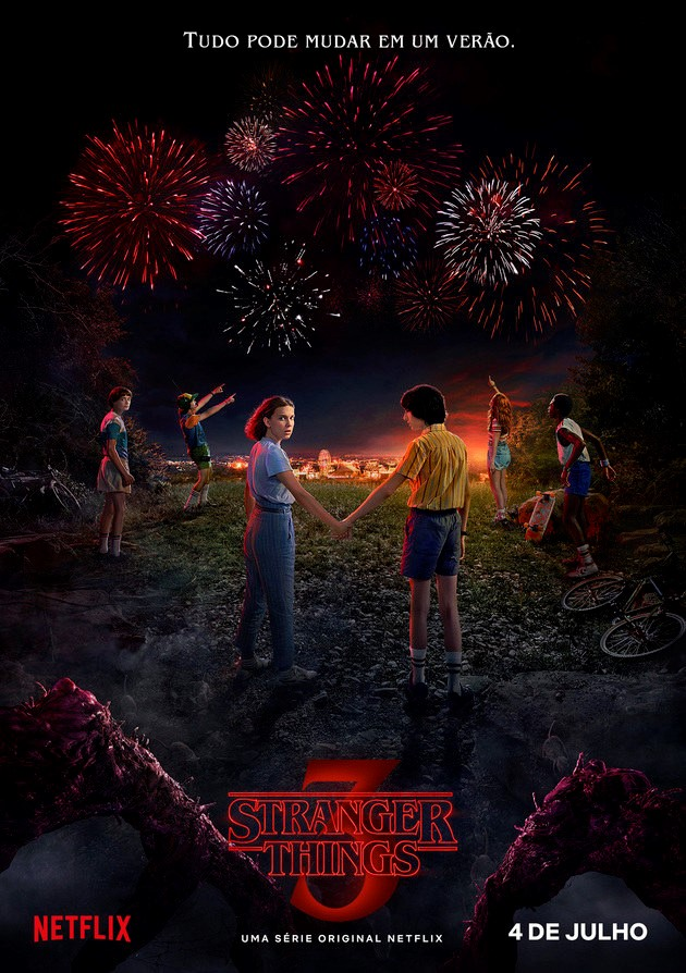 Stranger Things 3ª Temporada Torrent – WEB-DL 720p/1080p Dual Áudio