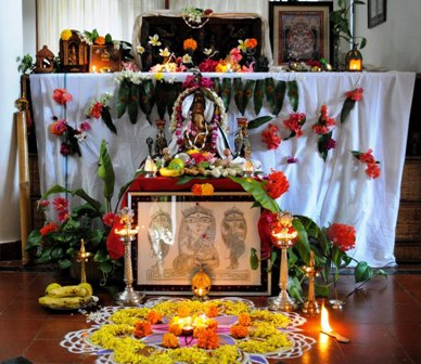 Temple Decoration Ideas For Home Elitflat