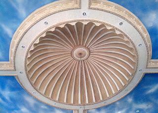 Variasi plafon dengan dome gypsum cetakan