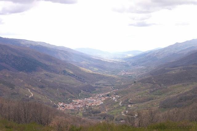 Valle del Jerte vistas