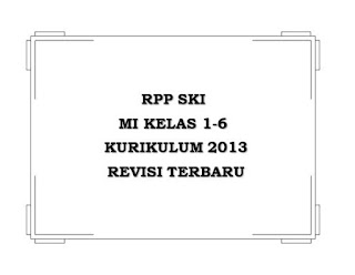 RPP SKI MI K13 Kelas 1-6