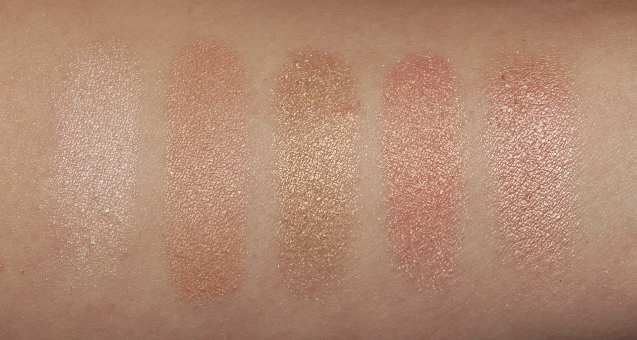 mac eyeshadow collection review swatches dazzlelight shroom retrospeck gleam naked lunch