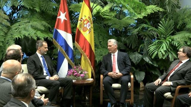 Felipe VI brinda apoyo total a empresarios españoles en Cuba