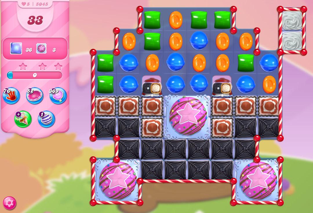 Candy Crush Saga level 5045