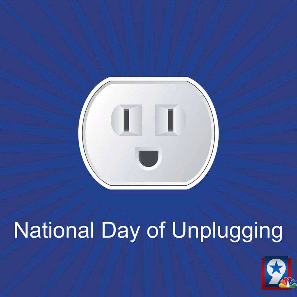 National Day of Unplugging Wishes Photos