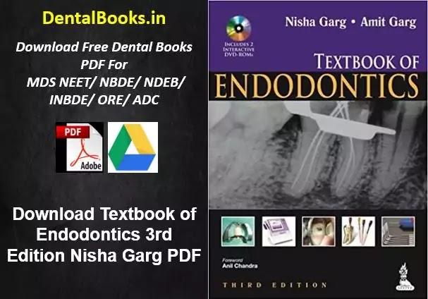 Download Textbook of Endodontics 3rd Edition Nisha Garg PDF, Download Dental Books
