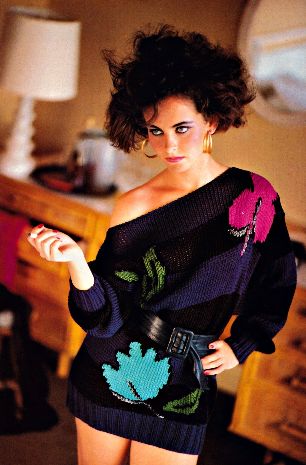 more was more in '80s fashion  vintage news daily