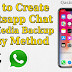 How to Create Whatsapp Chats and Media Backup on iPhone - 2 Easy Methods