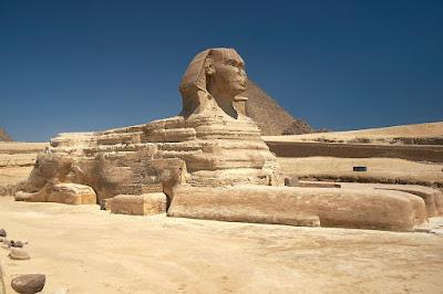 Patung Sphinx Besar Giza - Mesir