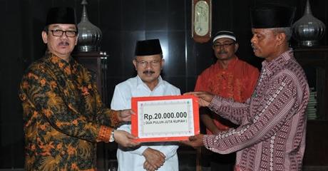 Tim Safari Ramadhan Gubernur Sumbar Kunjungi Masjid Taqwa V Koto Kampung Dalam