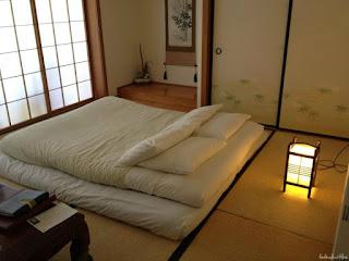 Contoh Desain Kamar Tidur Sempit Ukuran 3×3 Japanese style