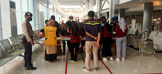 Penerapan Prokes di Penumpang Kapal, Polres Pelabuhan Makassar tingkatkan Pengawasn