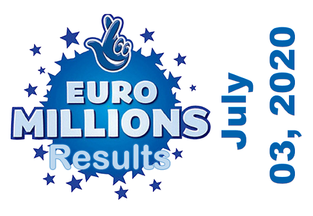 EuroMillions Results for Friday, July 03, 2020