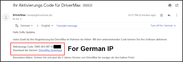 Giveaway German: DriverMax for FREE