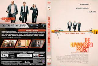 CARATULA THE HUMMINGBIRD PROJECT - 2019 [COVER DVD]