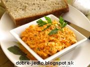 Paradajkové maslo - recept