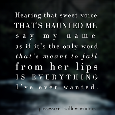 Possessive, Willow Winters