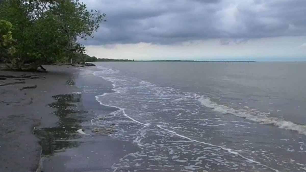 Pantai Kuala Serapuh Langkat Merupakan Objek Terpendam Yang Penuh